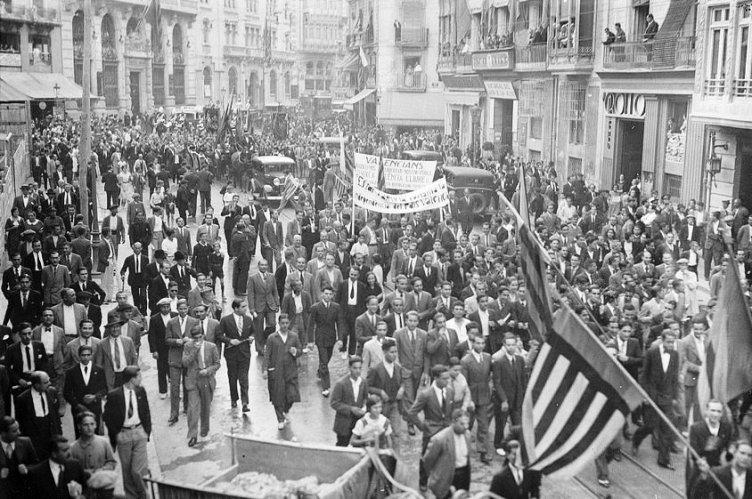 Processó Cívica 9 octubre 1933